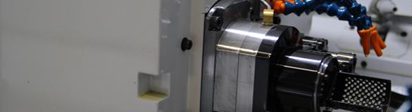 CNC Machine close up