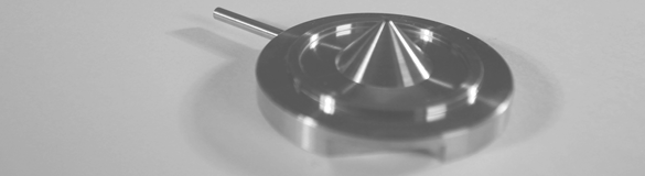 Precision Component with cone feature