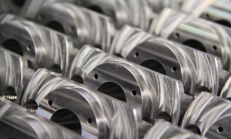 CNC Milling products in final stage