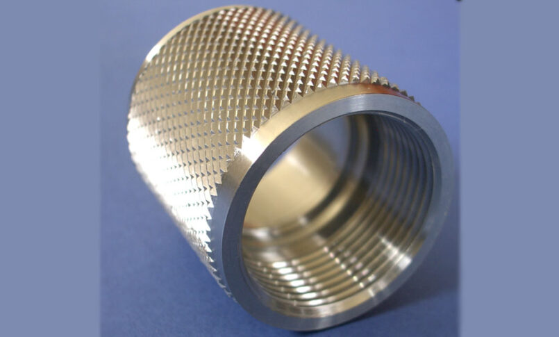 Ridged product made using CNC turning machine