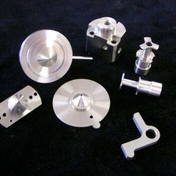 Multiple CNC turning components