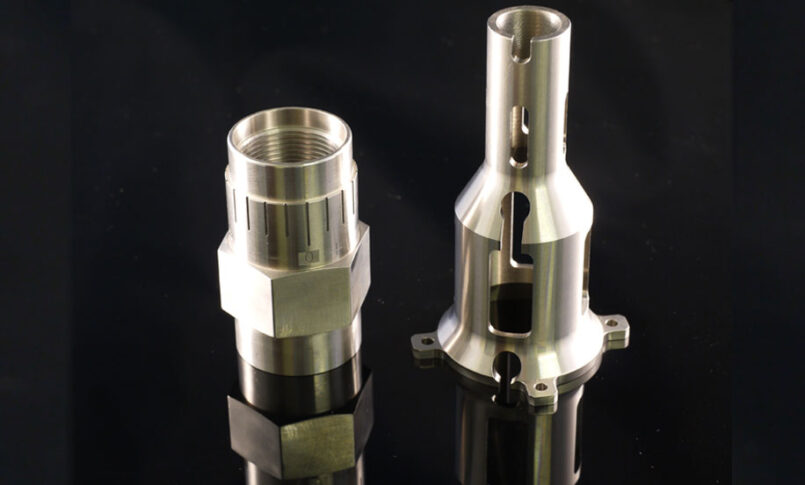 Precision Components from CNC Turning Machine