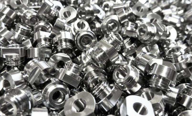 Mass production using Turn/Mill Machining