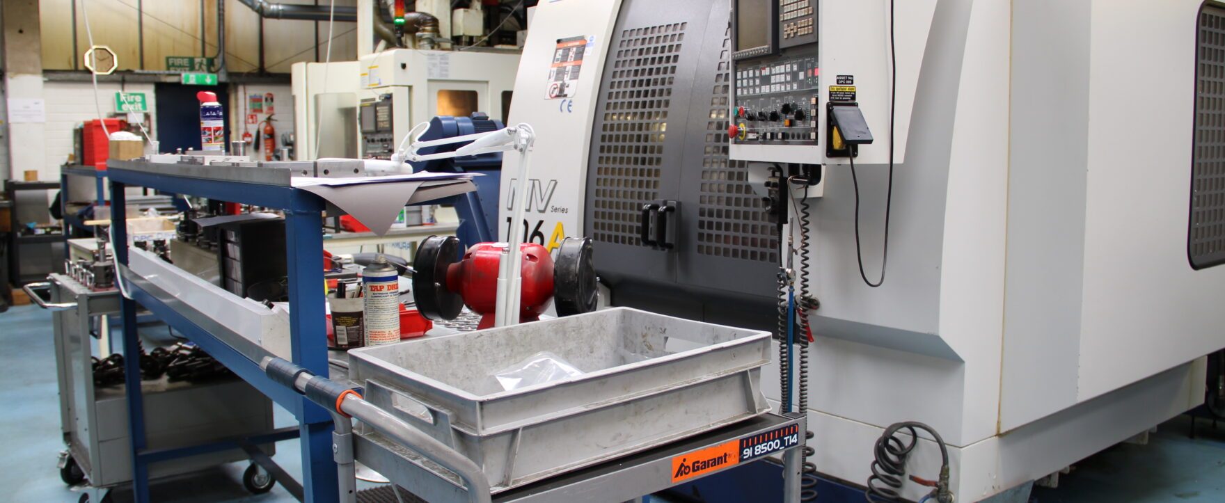 CNC machine at DPC