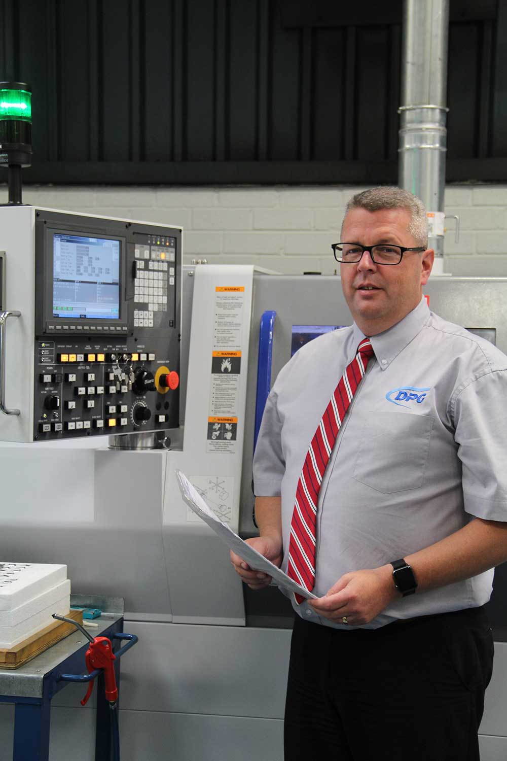 CNC Automatic Lathe first in UK